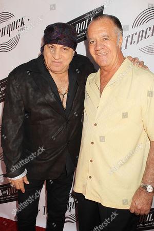Stevie Van Zandt and Tony Sirico