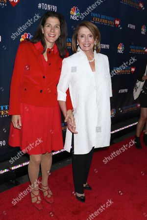 Alexandra Pelosi and Nancy Pelosi