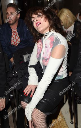 Stock Image of Siouxsie Sioux in the front row