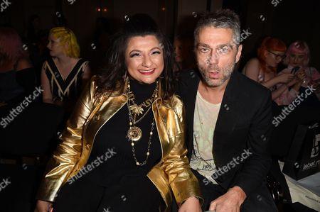Stock Photo of Tehmina Adaya and Tim Noble