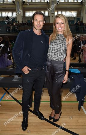 Paul Sculfor and Federica Amati in the front row