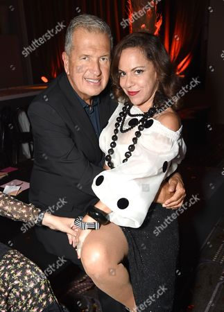 Stock Picture of Mario Testino and Bebel Gilberto