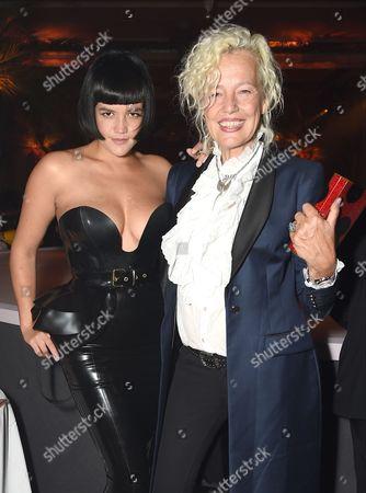 Stock Photo of Tessa Kuragi and Ellen Von Unwerth