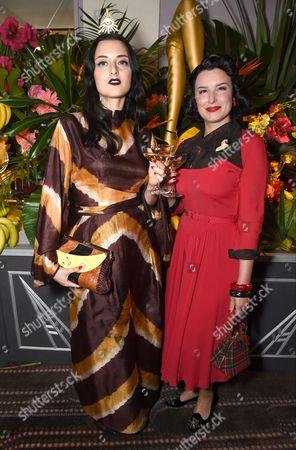 Stock Image of Adele Mildred Edwards and Sharon Trickett