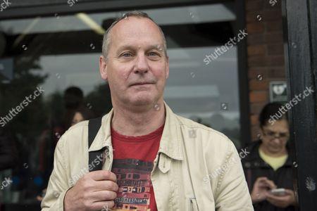 Michael Clarke from Berkhamstead outside Kings Langley rail station