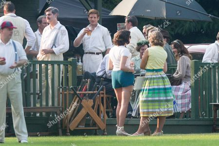 Editorial image of 'Grantchester' TV programme filming, Hertfordshire, UK - 15 Sep 2016