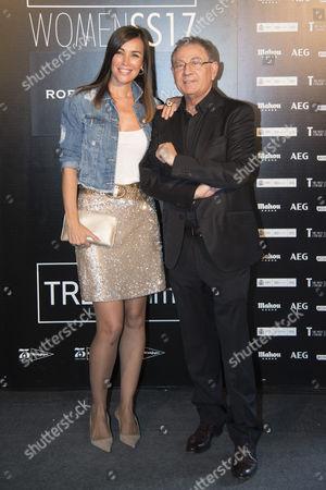 Stock Photo of Maria Jose Besora; Roberto Verino