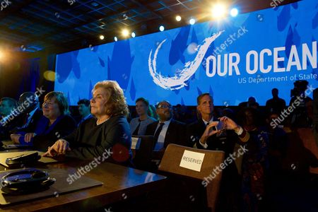 Editorial photo of Our Ocean, One Future conference at the State Department, Washington DC, USA - 15 Sep 2016