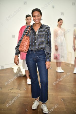 Alice Casely-Hayford in the front row