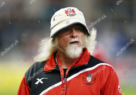 Gloucester head coach Laurie Fisher during the Aviva Premiership match between Sale Sharks and Gloucester played at the AJ Bell Stadium, Salford on 16th September 2016