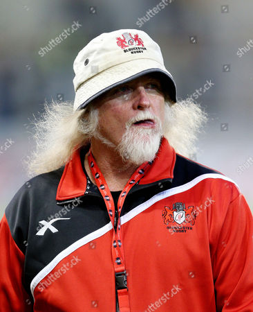 Stock Picture of Gloucester's head coach Laurie Fisher