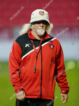 Gloucester's head coach Laurie Fisher