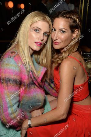 Stock Picture of Ashley James and Laura Predelska