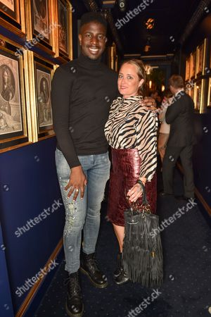 Jermain Jackman and Erica Bergsmeds