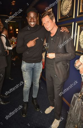 Jermain Jackman and Percy Parker