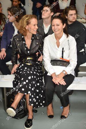 Andrea Dellal and Caroline Rush