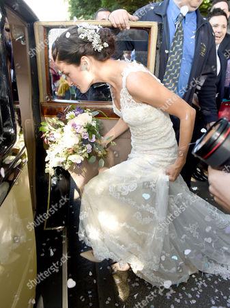 Stock Picture of Lizzie Armitstead and Philip Deignan wedding