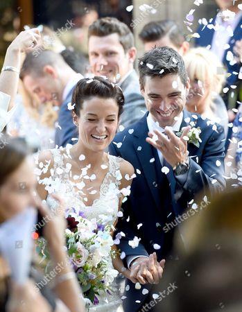 Lizzie Armitstead and Philip Deignan wedding