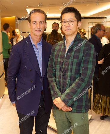 Editorial picture of Tod's Celebrates the reopening of the London flagship boutique, UK - 16 Sep 2016