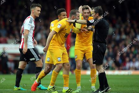 Editorial photo of Brentford vs Preston North End, Sky Bet EFL Championship, Football, Griffin Park, London, Greater London, United Kingdom - 17 Sep 2016