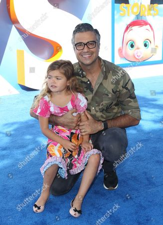 Stock Image of Jaime Camil and Elena Camil