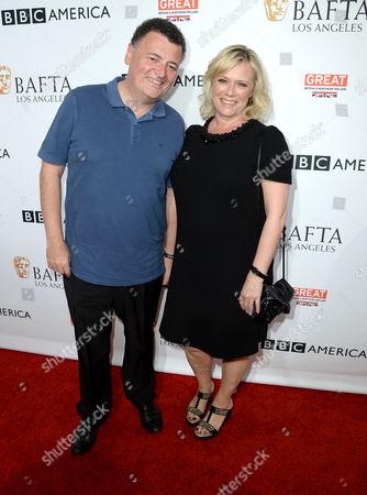 Steven Moffat and Sue Vertue