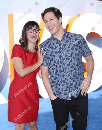 Katie Crown and Andy Samberg