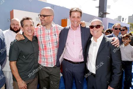 Christopher DeFaria, Doug Sweetland, Nicholas Stoller, Brad Lewis