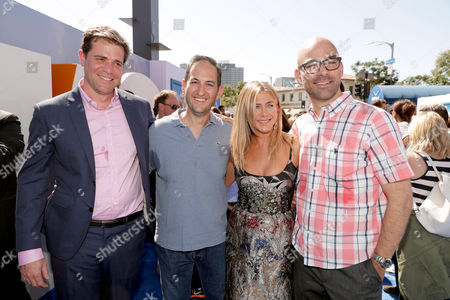 Nicholas Stoller, Greg Silverman, Jennifer Aniston, Doug Sweetland