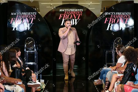 Editorial image of Macy's presents Fashions Front Row, Los Angeles, USA - 17 Sep 2016