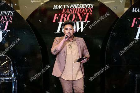 Editorial photo of Macy's presents Fashions Front Row, Los Angeles, USA - 17 Sep 2016