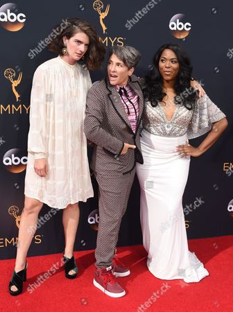 Gaby Hoffmann, Jill Soloway and Alexandra Grey
