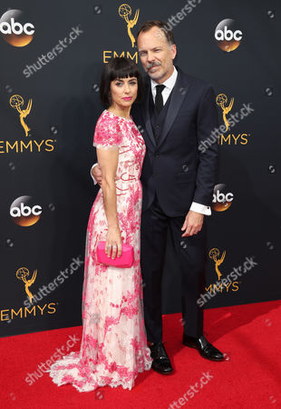 Constance Zimmer and Russ Lamoureux
