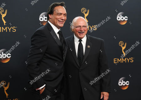 Jimmy Smits and Dennis Franz