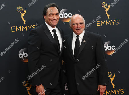 Stock Picture of Jimmy Smits and Dennis Franz