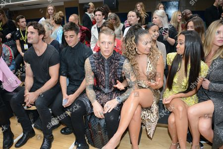 Stock Picture of Lewi Morgan, Ella Eyre, Leigh-Anne Pinnock