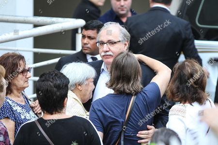 Editorial photo of Domingos Montagner funeral,  Sao Paulo, Brazil - 17 Sep 2016
