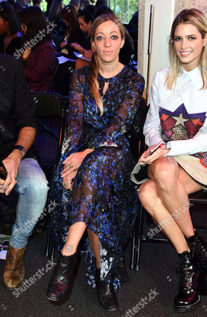 Stock Image of Isabella Summers- from Florence and the Machine on front row