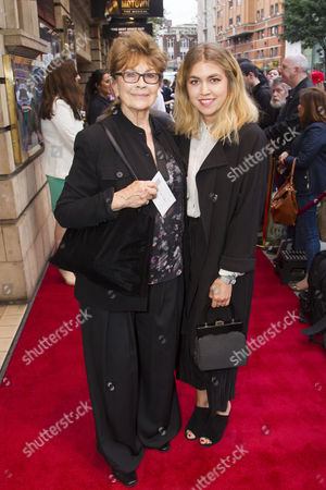 Nanette Newman and Tilly Standing
