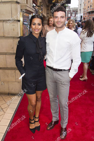 Stock Photo of Sair Khan and Tom Ross-Williams