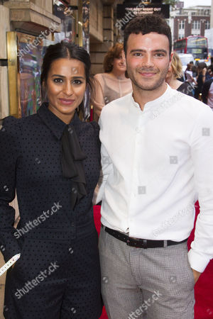 Stock Picture of Sair Khan and Tom Ross-Williams