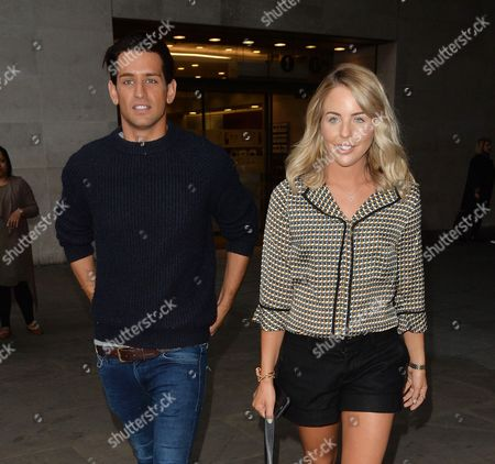 Editorial image of Lydia Bright and Ollie Lock out and about, London, UK - 18 Sep 2016