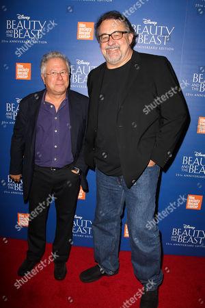 Alan Menken and Don Hahn