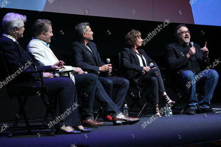 Angela Lansbury, Richard White, Robby Benson, Paige O'Hara, Don Hahn