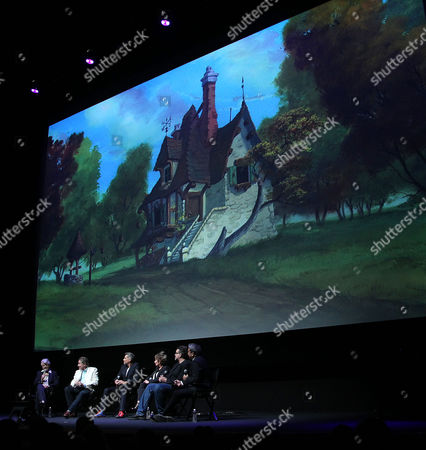 Angela Lansbury, Richard White, Robby Benson, Paige O'Hara, Don Hahn, Eugene Hernandez