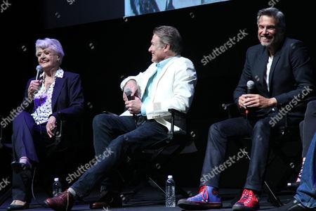 Stock Photo of Angela Lansbury, Richard White and Robby Benson