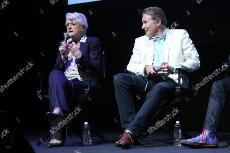 Angela Lansbury and Richard White