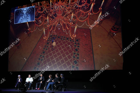 Editorial image of Disney's 'BEAUTY AND THE BEAST' returns to Alice Tully Hall for a 25th Anniversary Screening, New York, USA - 18 Sep 2016