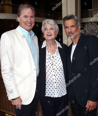 Richard White, Angela Lansbury and Robby Benson