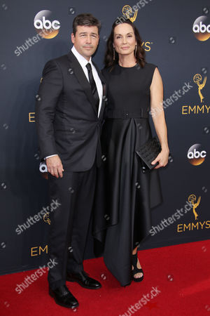 Kyle Chandler and Kathryn Chandler